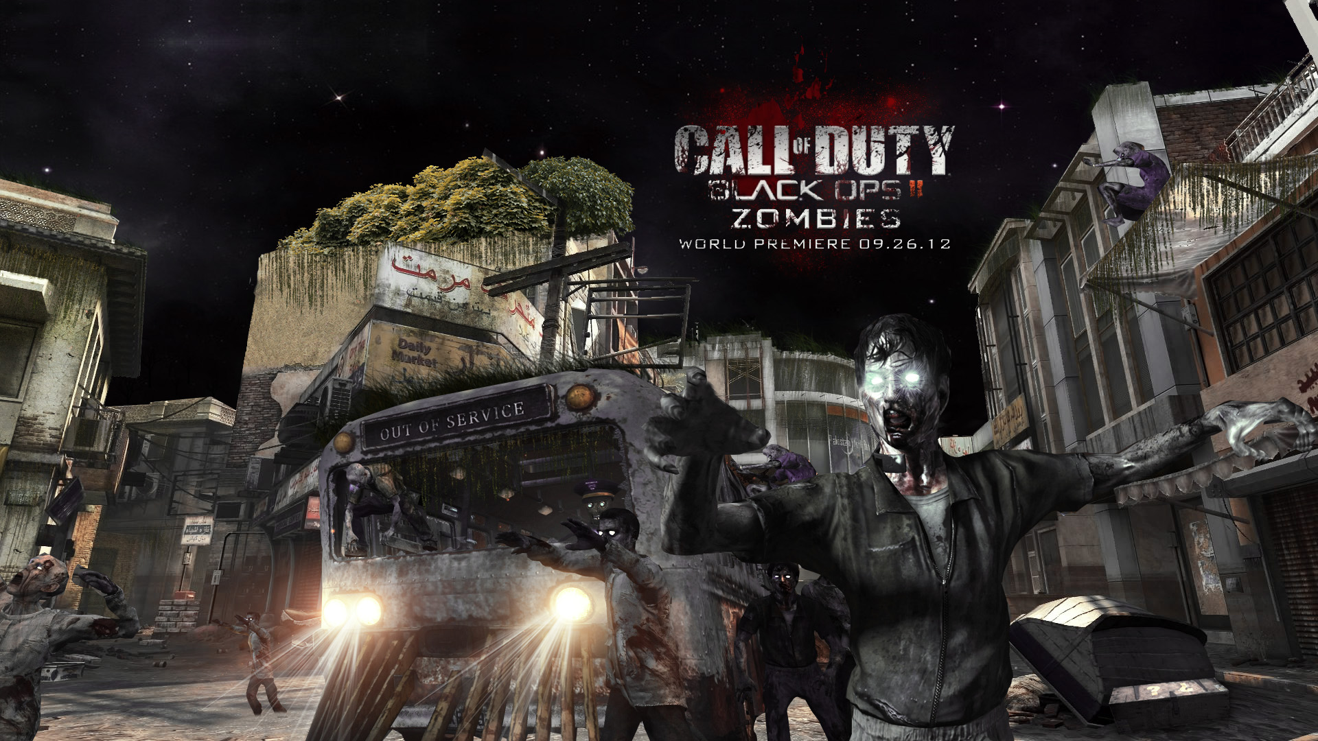 Call Of Duty Black Ops 2 Zombies Wallpapers Group (68+)
