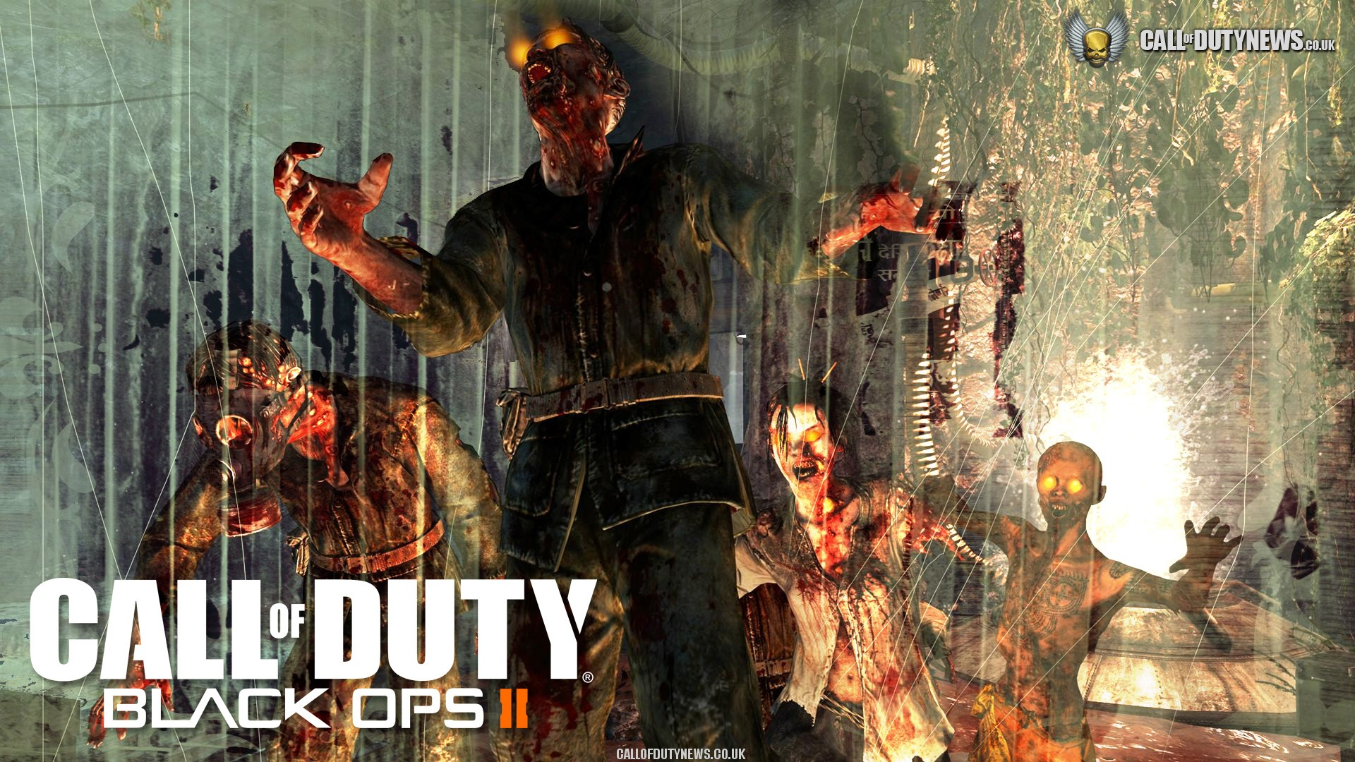 black ops zombies wallpaper