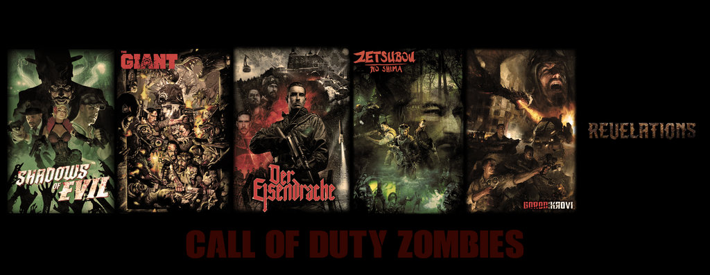 COD Black Ops III Zombies - Wallpaper by DivadMalas on DeviantArt