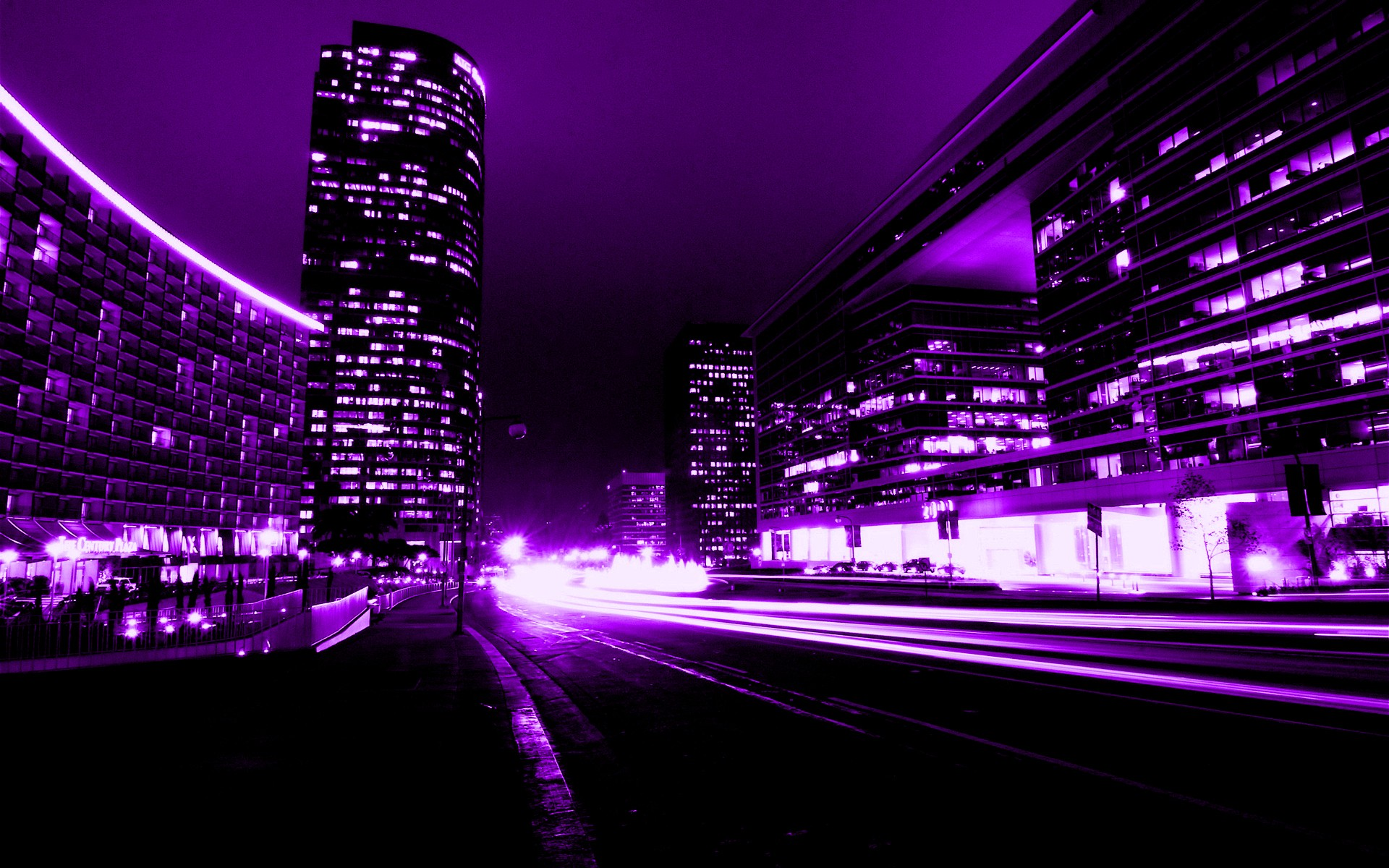 Purple And Black Wallpapers Widescreen