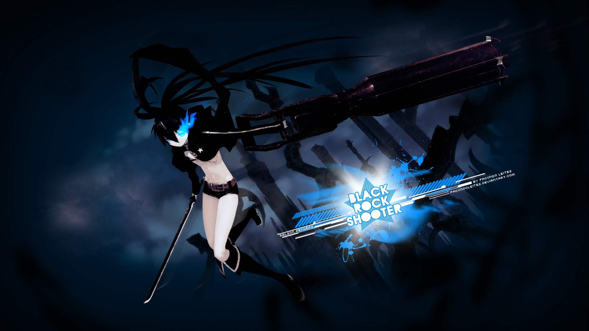 Black Rock Shooter Wallpapers - WallpaperSafari