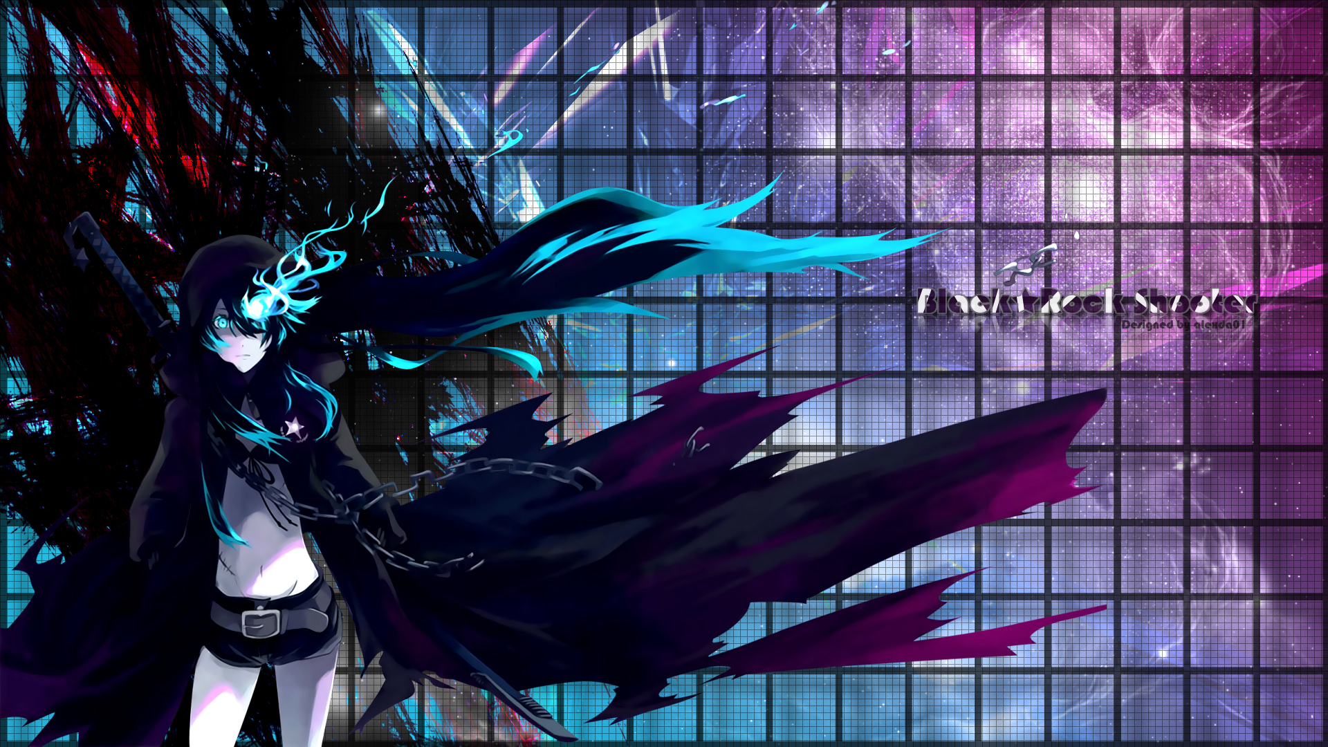 1148 Black Rock Shooter HD Wallpapers | Backgrounds - Wallpaper