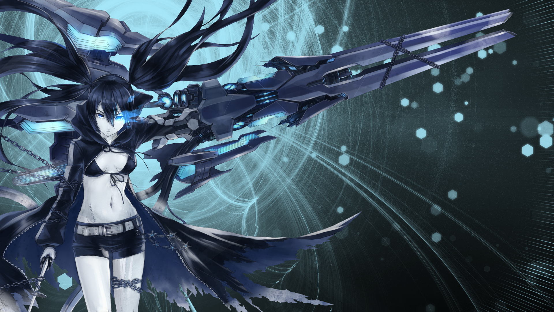44 Black Rock Shooter Wallpapers Pictures