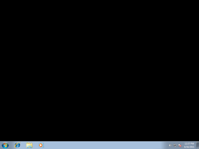 Fix: Windows 7 Starter edition desktop wallpaper turned black