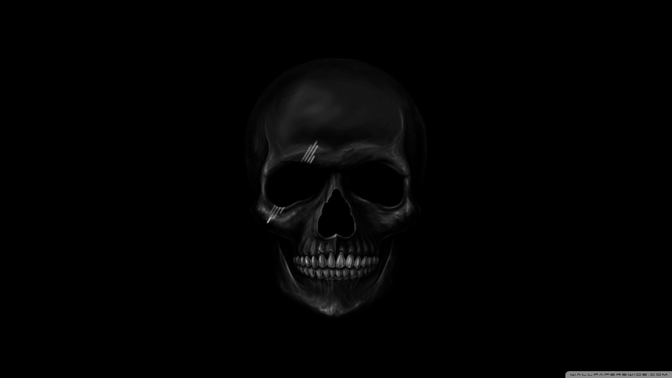black skull wallpaper - sf wallpaper