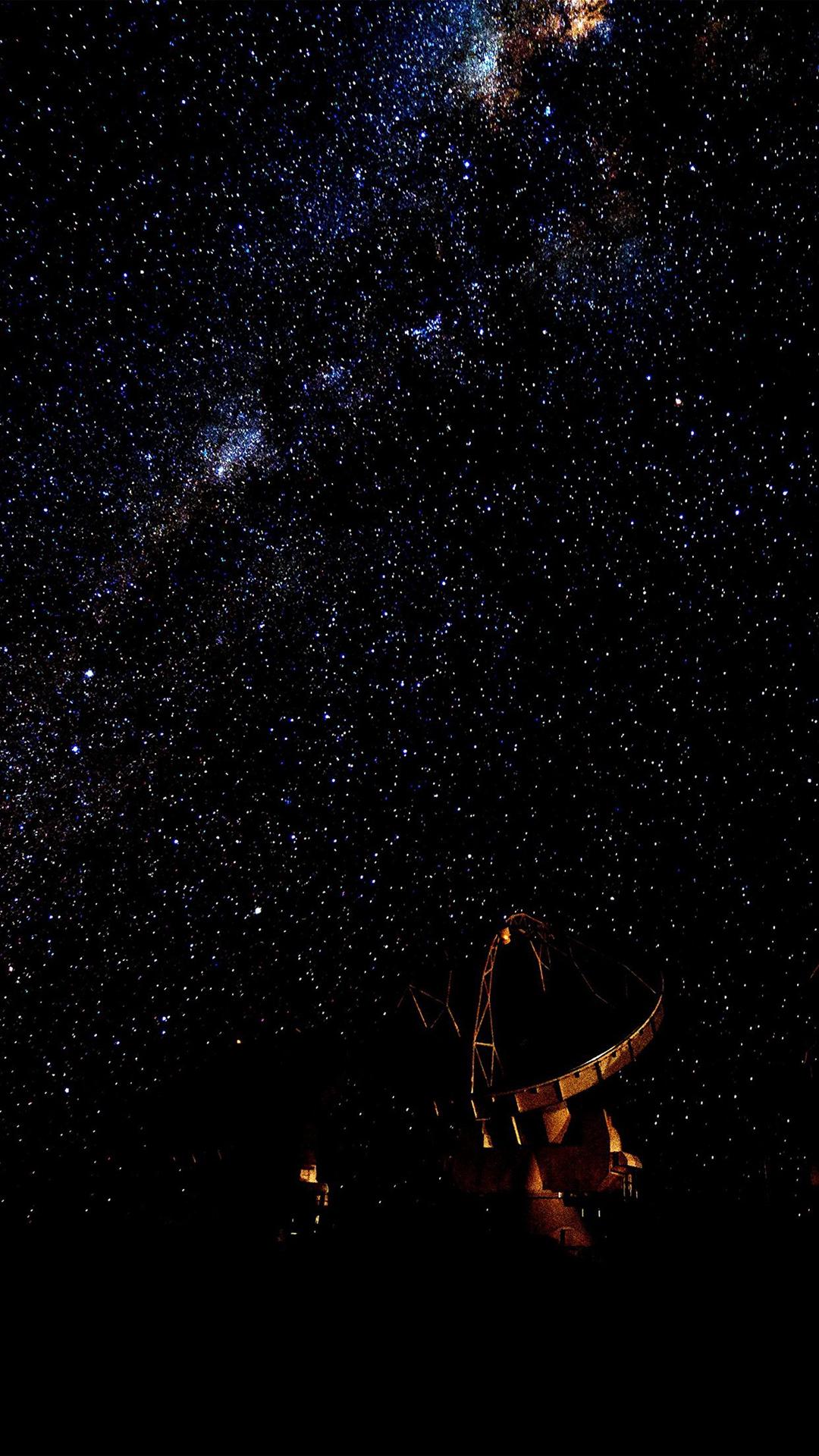 Space Dark Star Nature Black Sky iPhone 6 Wallpaper Download