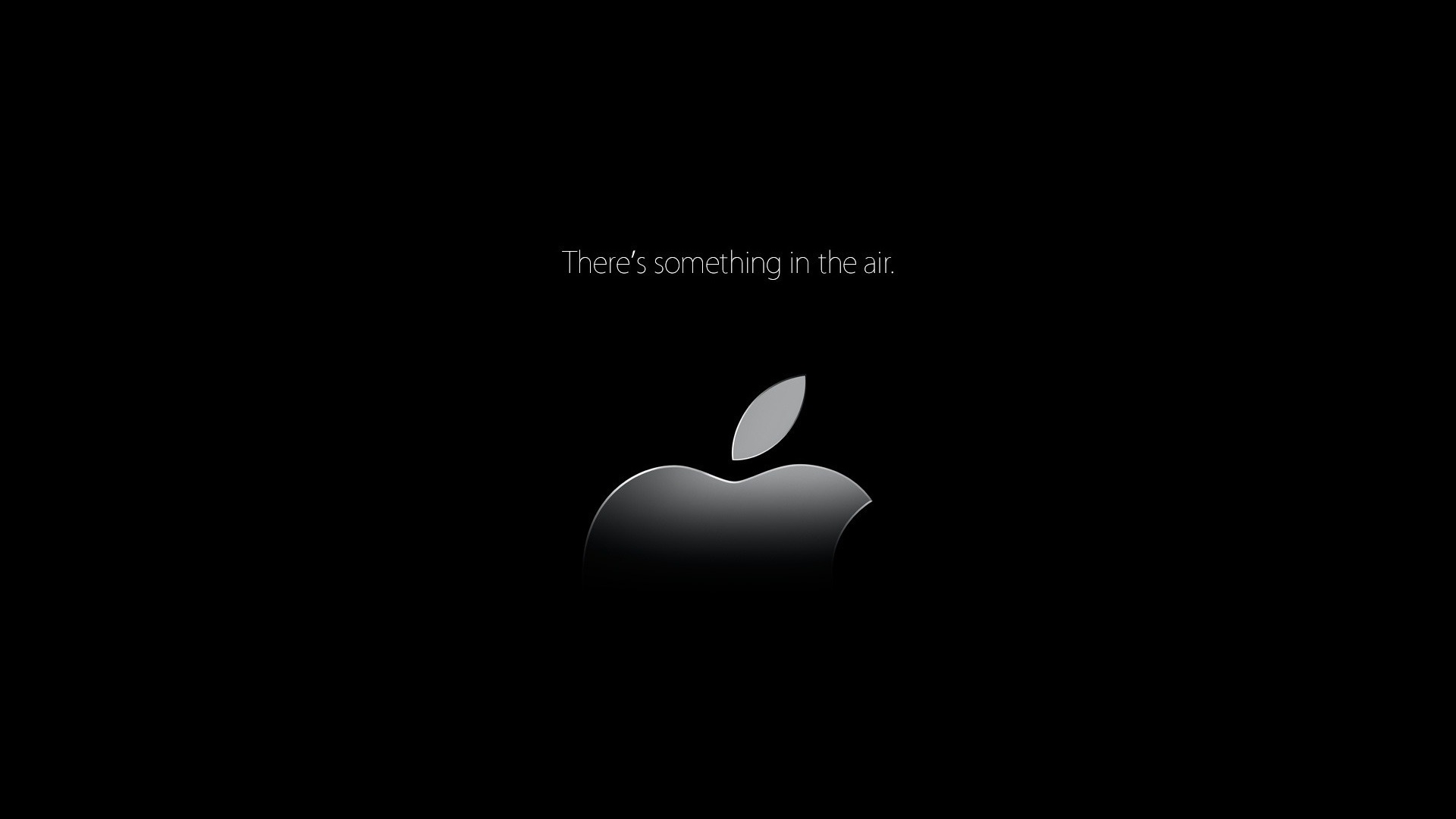Black Wallpaper Apple Sf Wallpaper