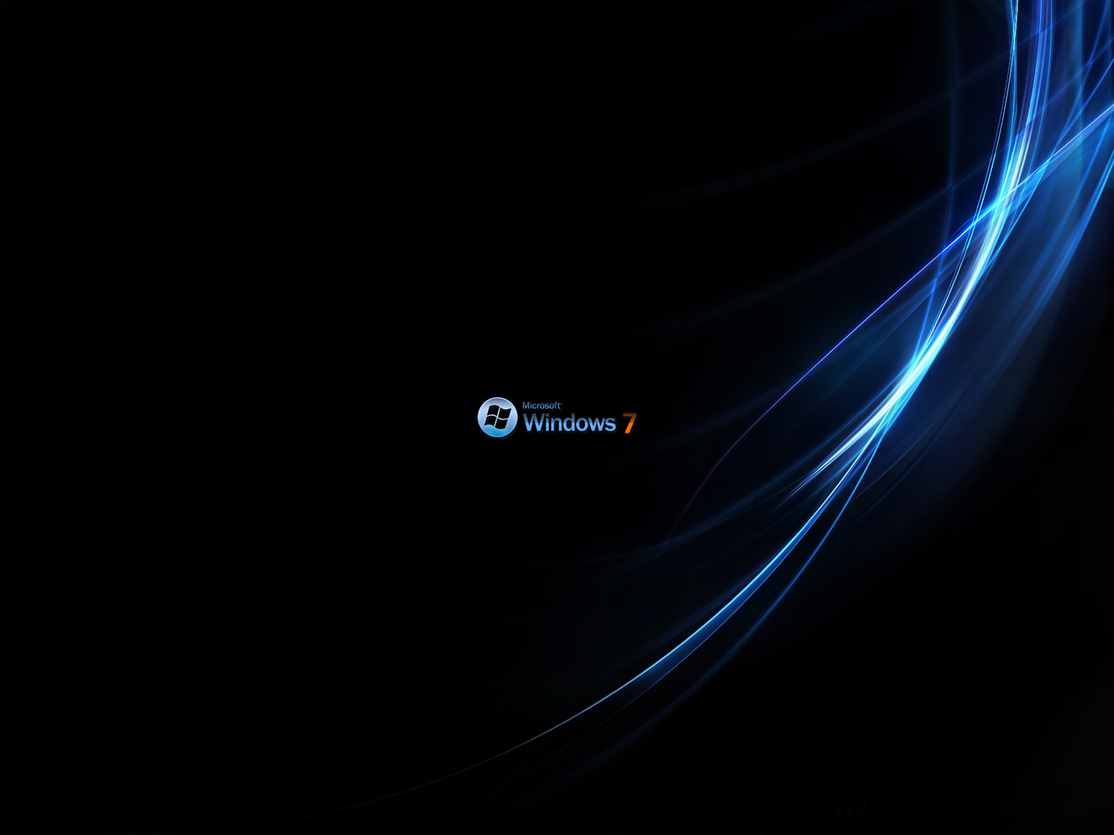 Windows 7 Rich Black Wallpapers | HD Wallpapers