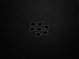 Leather BB Logo | CrackBerry com