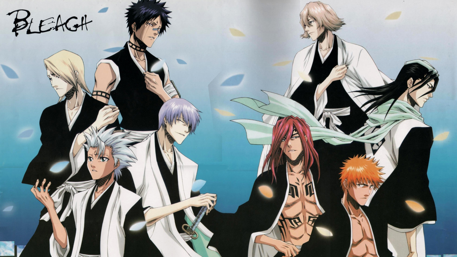 bleach characters wallpaper - sf wallpaper