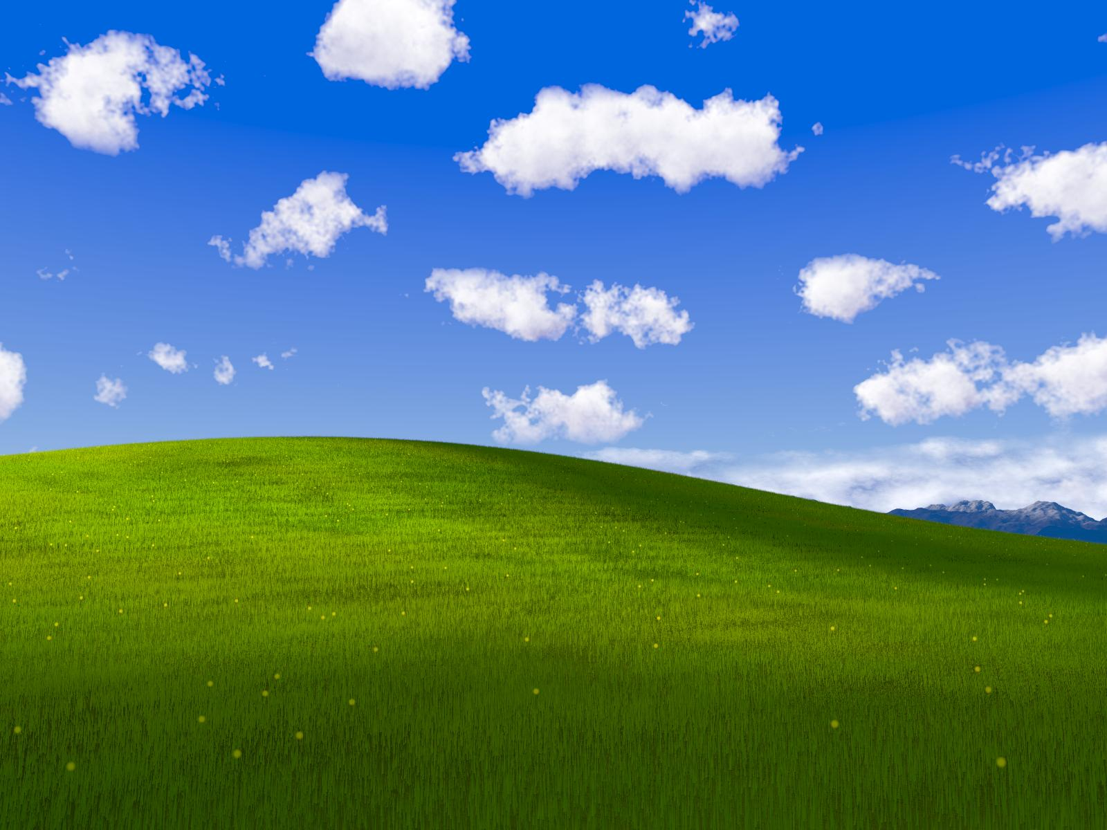Windows Bliss Wallpaper