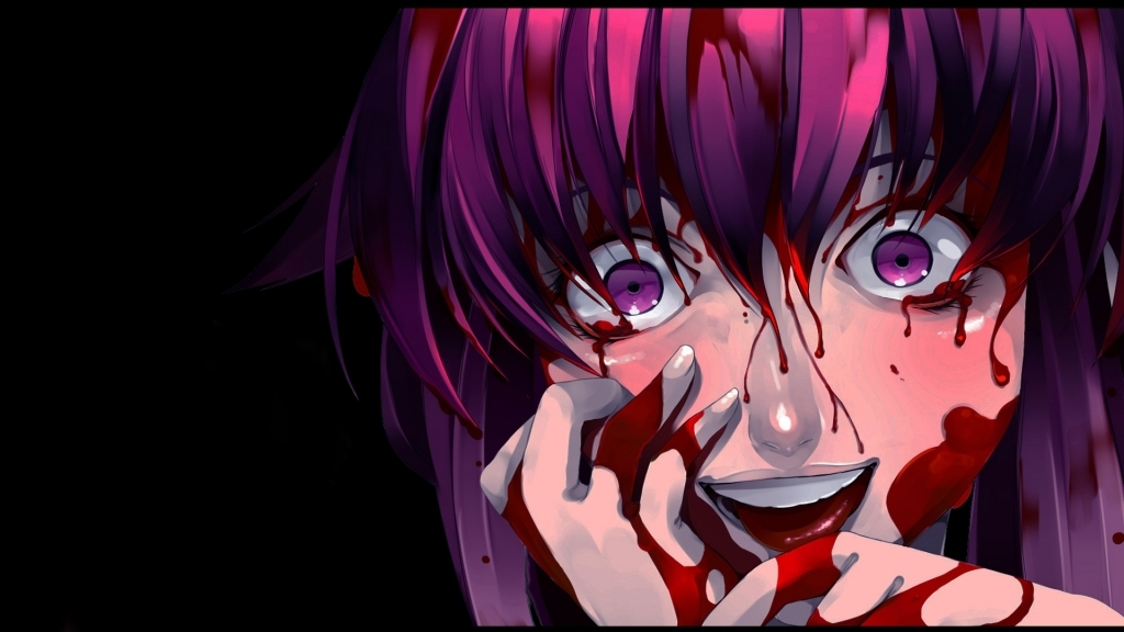 The Most Brilliant bloody anime girl wallpaper for Motivate Wish -