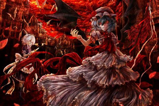 Bloody Anime Wallpaper - WallpaperSafari