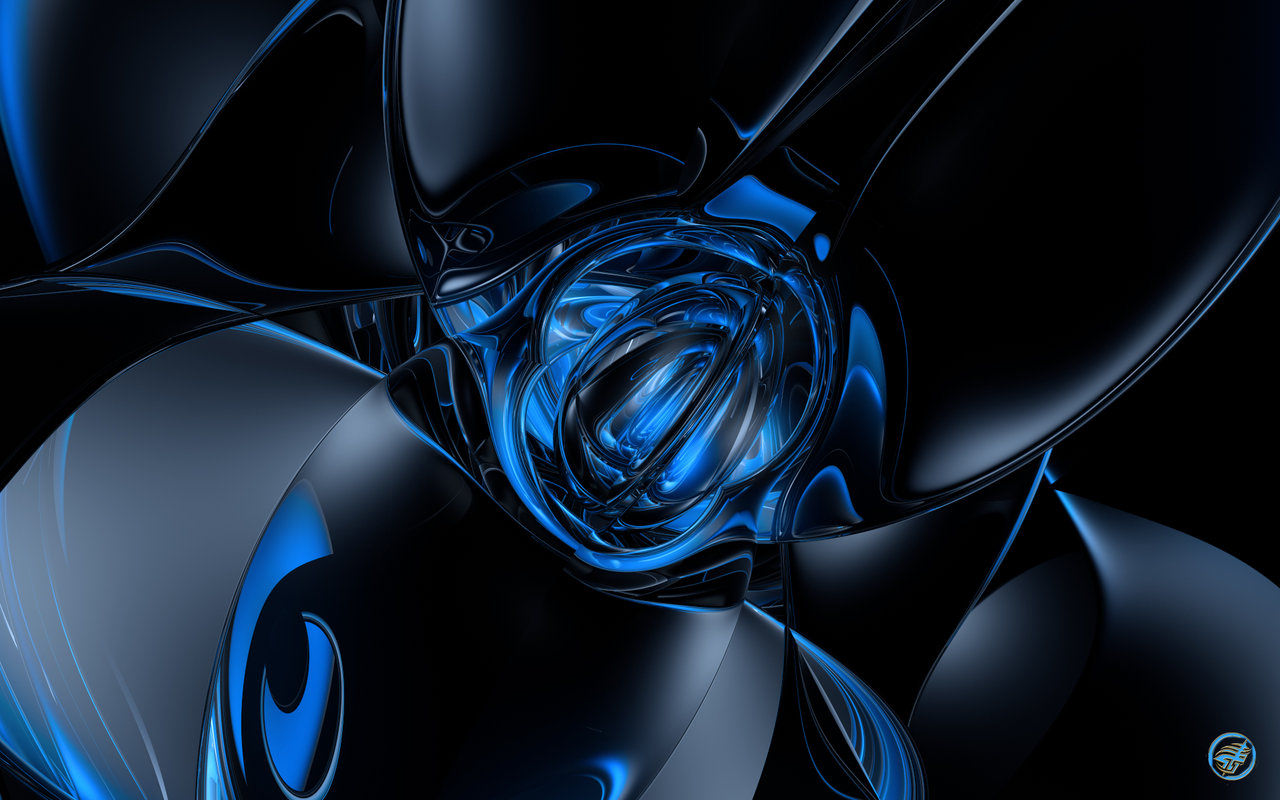30+ Black & Blue Backgrounds | Wallpapers | FreeCreatives