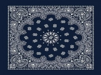 blue bandana wallpaper | Kjpwg com