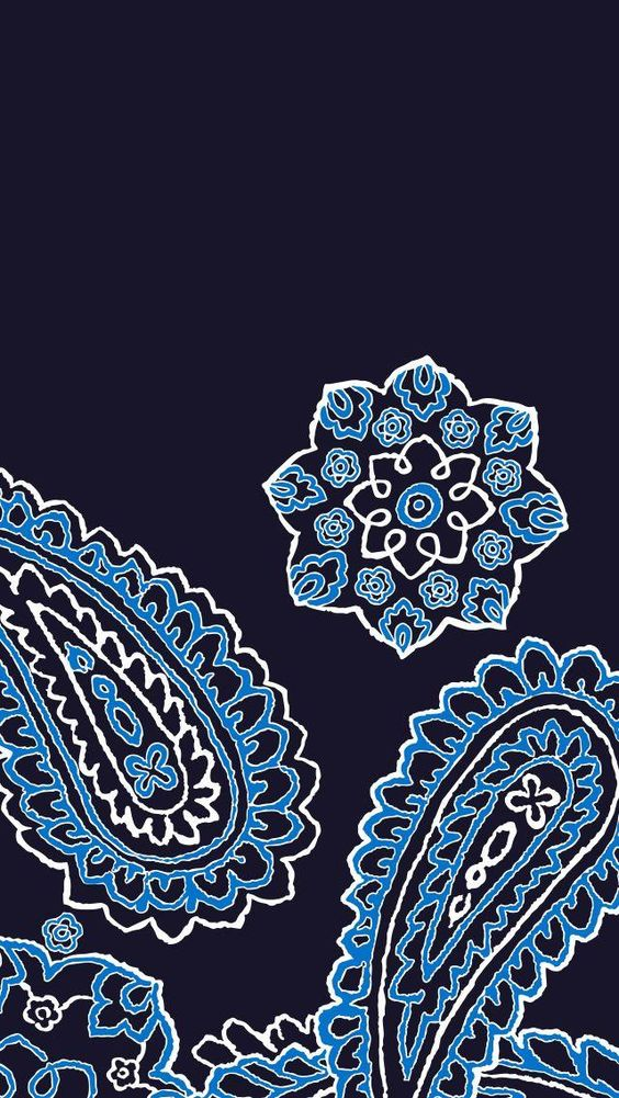 Blue Bandana Mobile Wallpaper Download | Tech Wallpapers