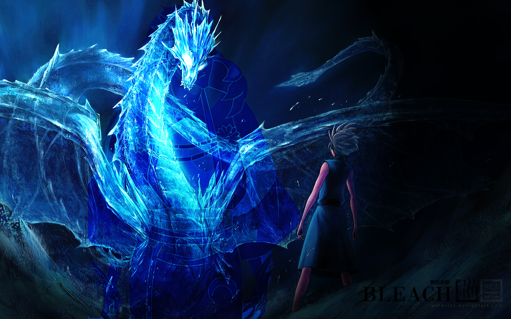 Download Blue Dragon Bleach Wallpaper 1680x1050 | Full HD Wallpapers