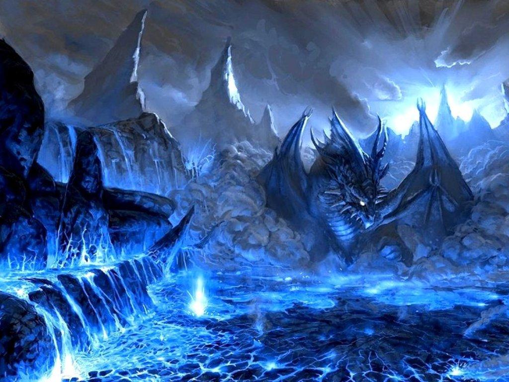 Blue Dragon Wallpaper HD - WallpaperSafari