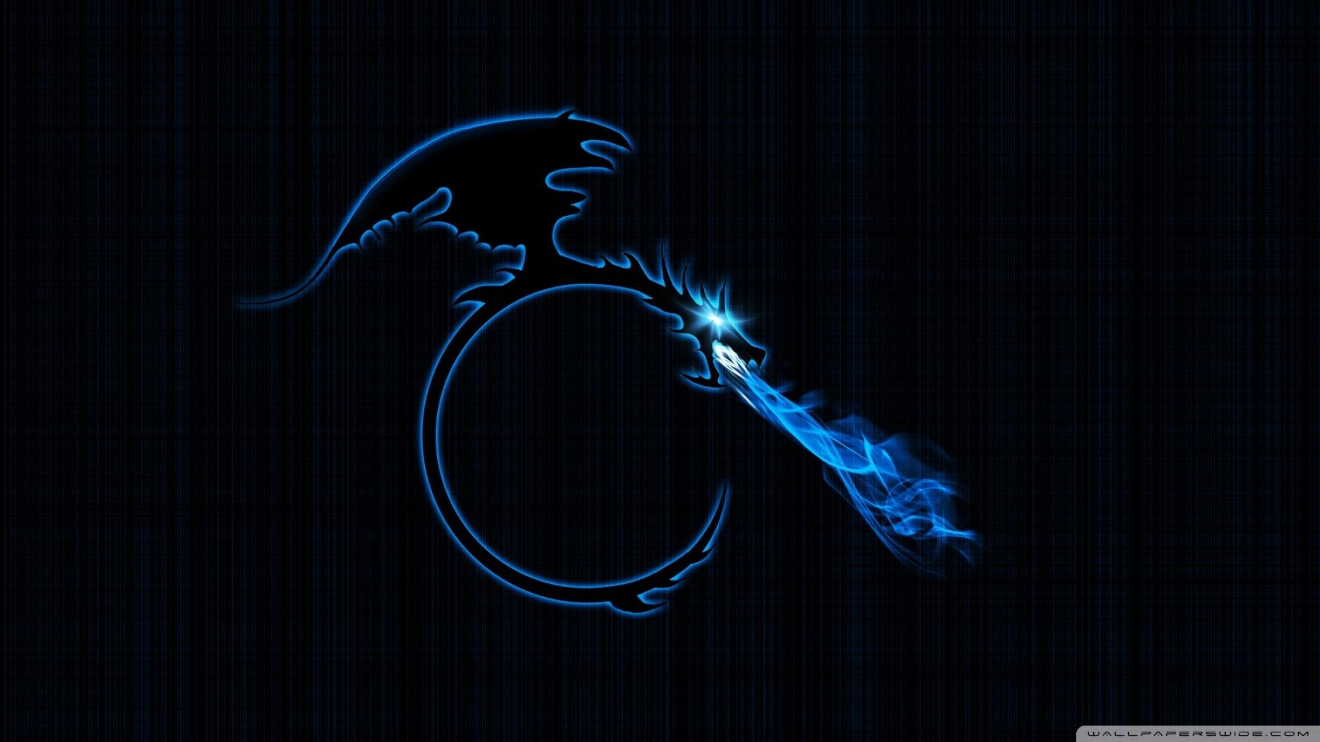 blue dragon wallpaper HD