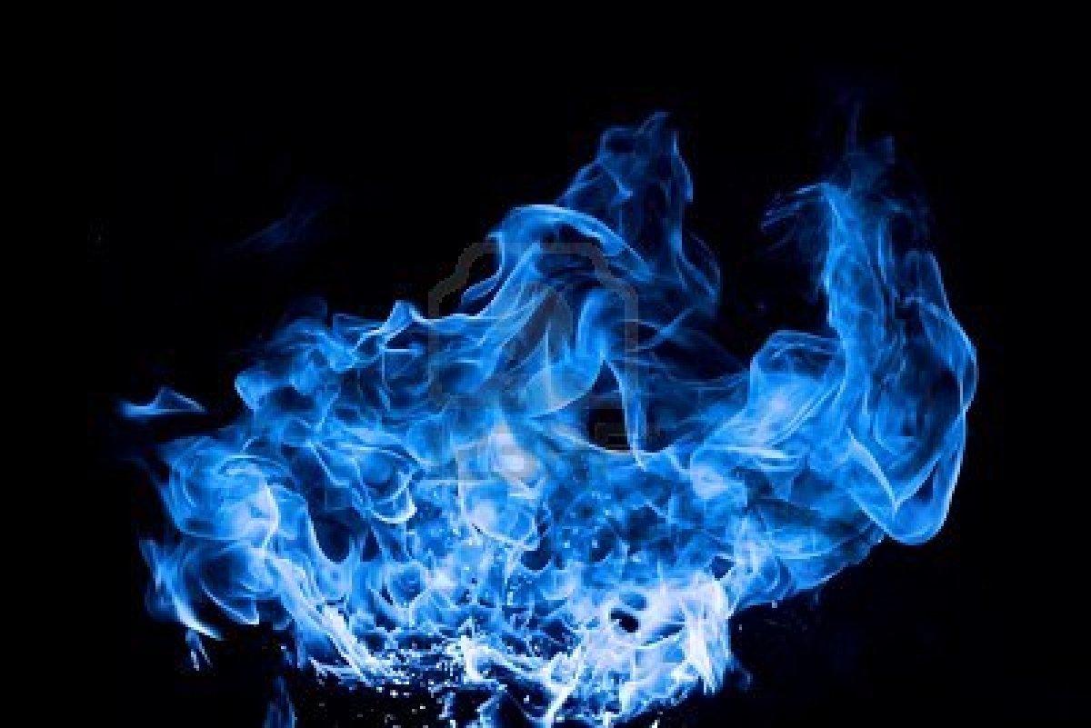 Blue Fire Wallpaper HD - WallpaperSafari
