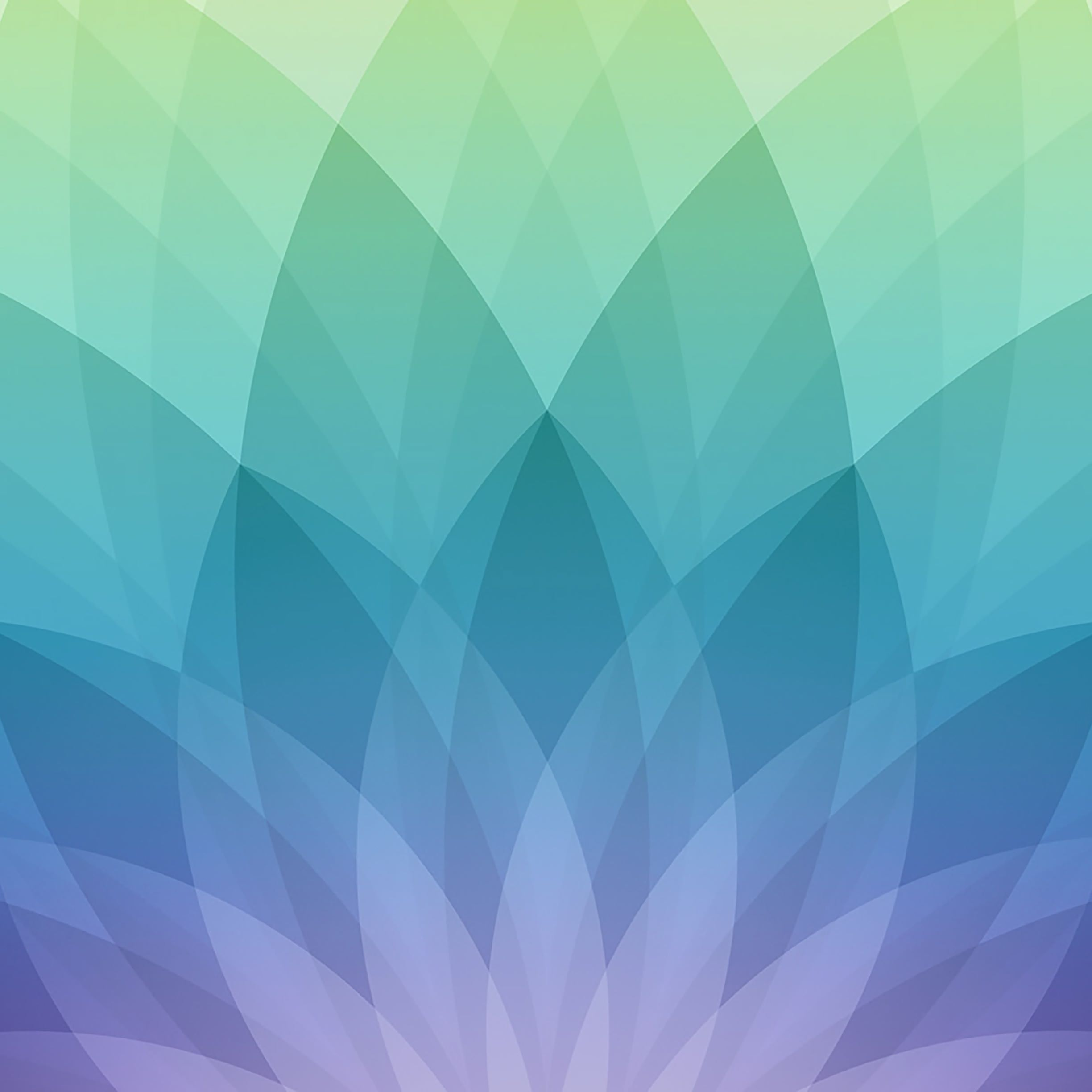 Apple logo spring events, green, and blue purple | wallpaper sc iPad