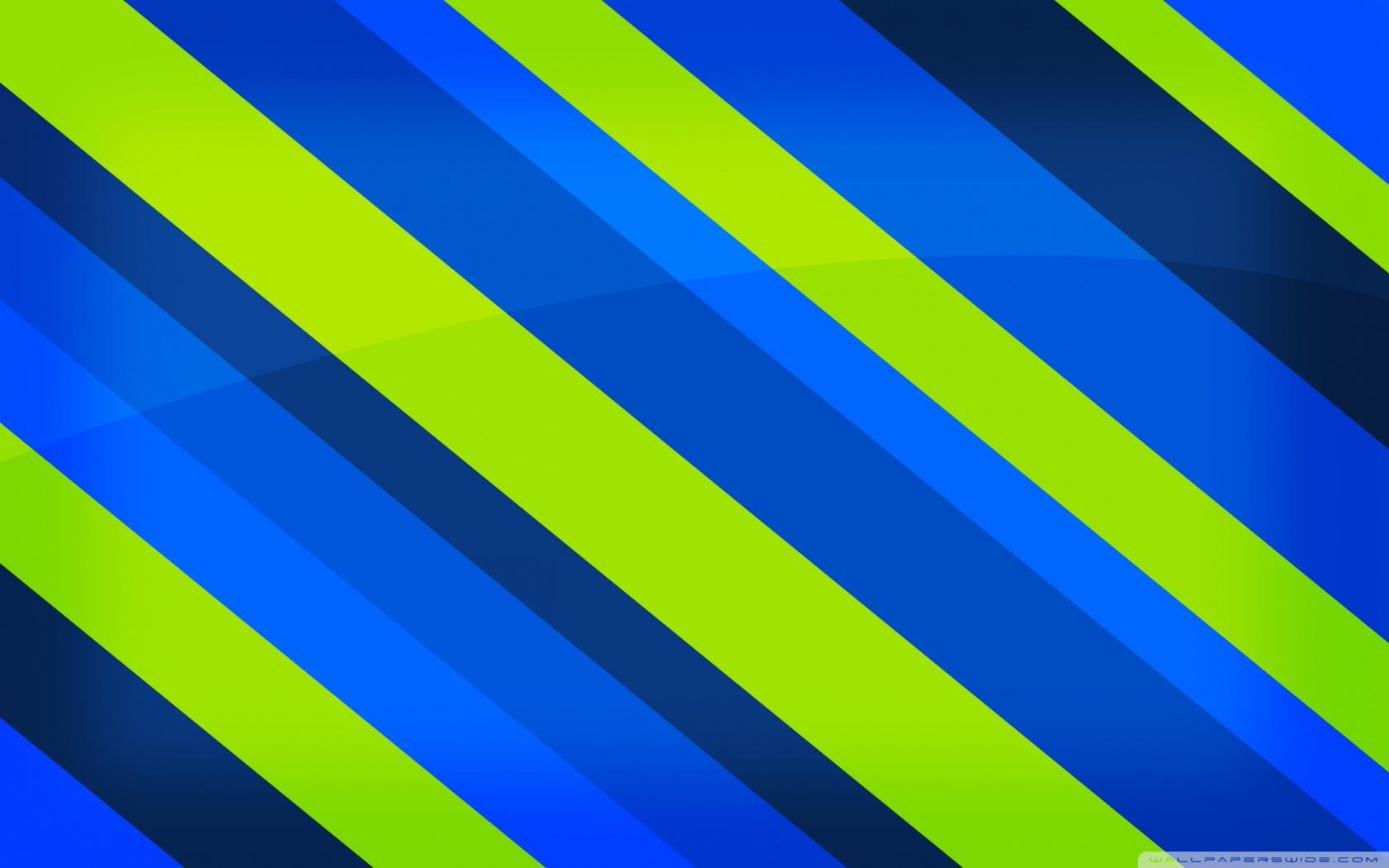 Rayure Blue And Green HD desktop wallpaper : Widescreen : High