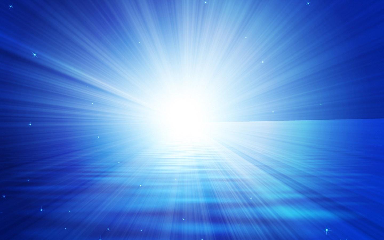 Blue Light Wallpaper
