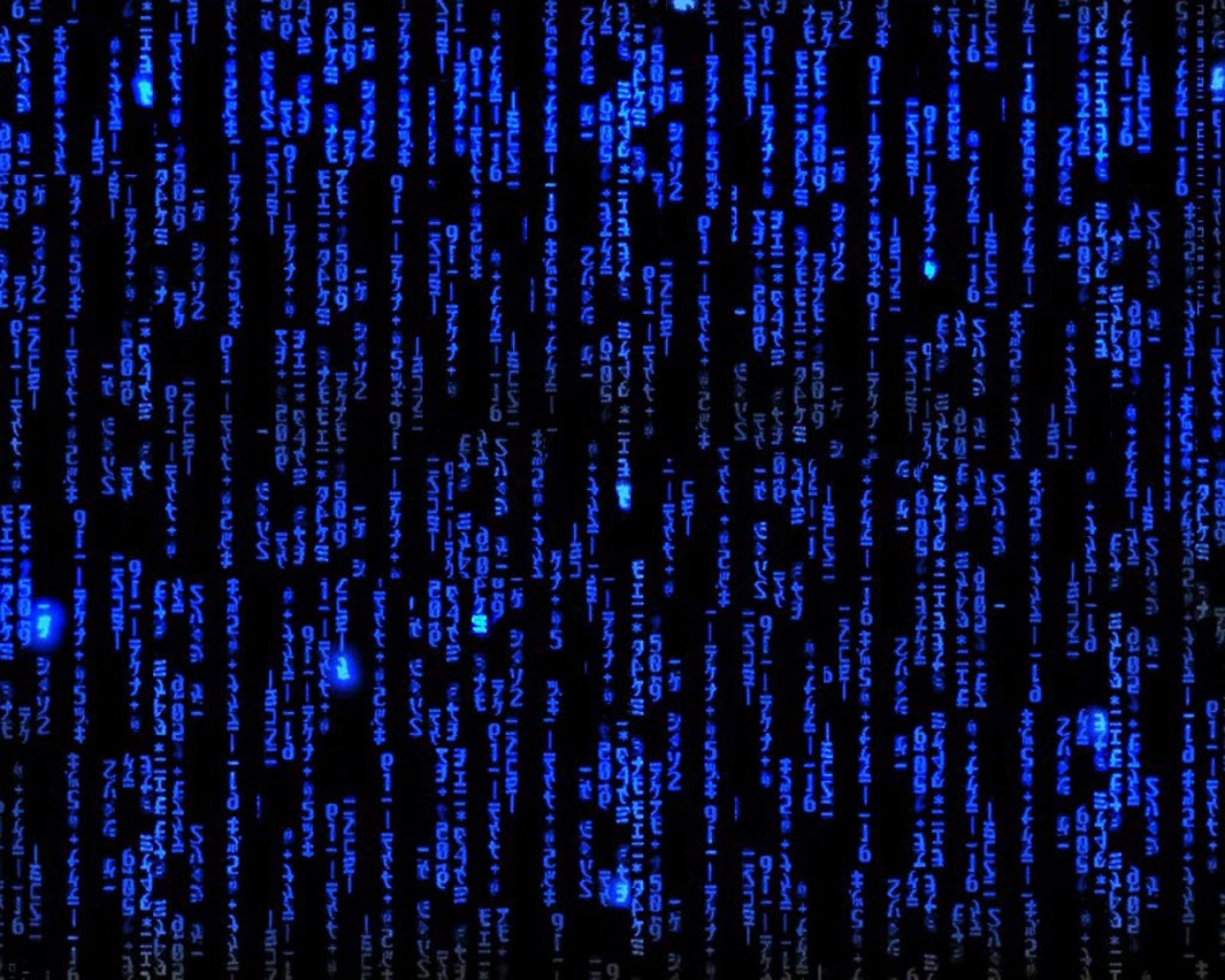 Blue Matrix Wallpaper ~ Sdeerwallpaper