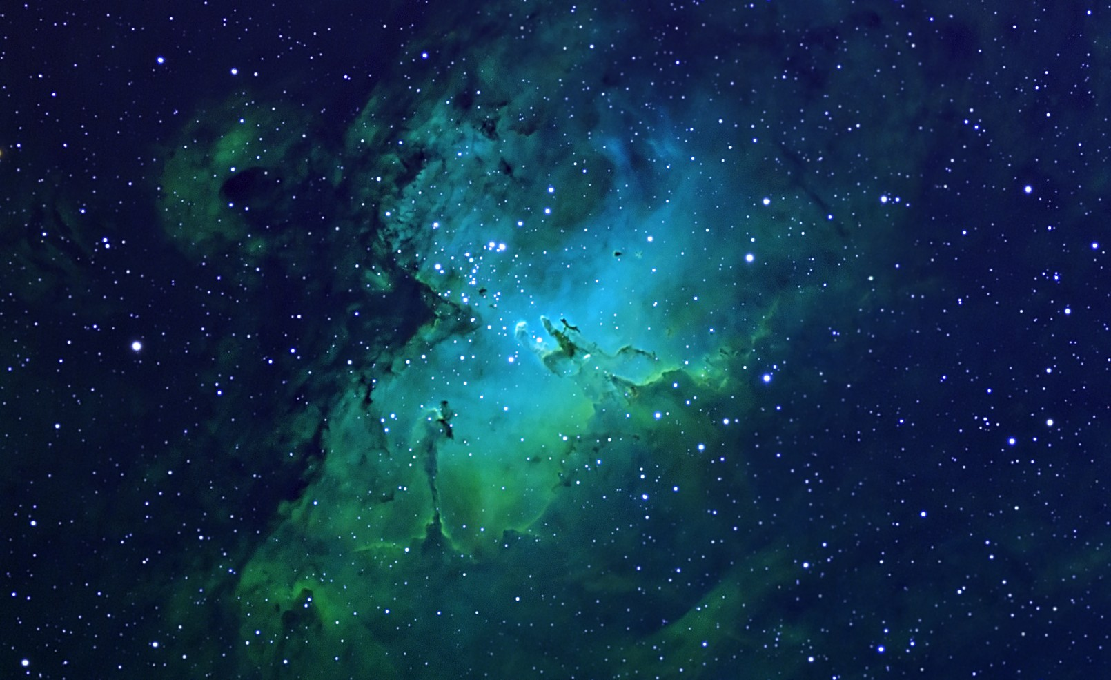 blue nebula wallpaper - sf wallpaper