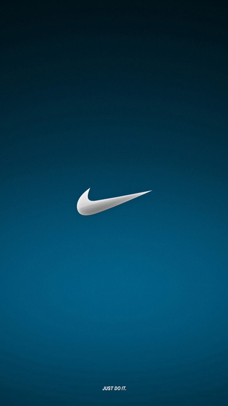 Blue nike wallpaper