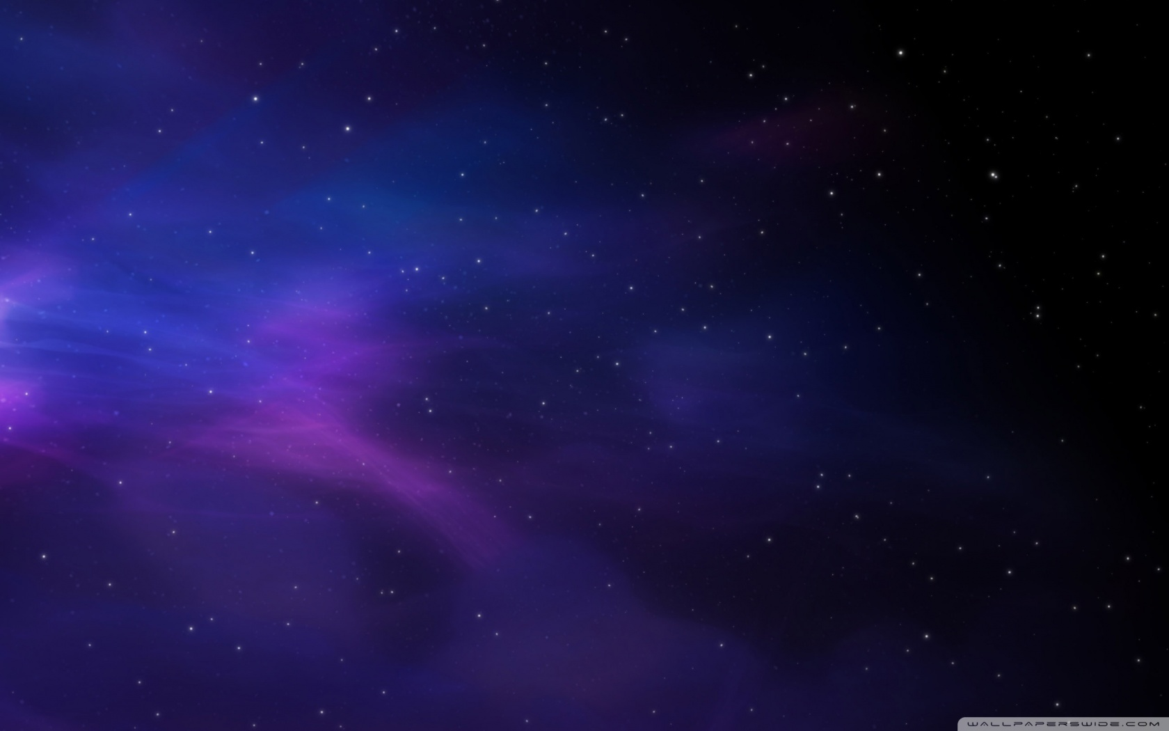 Space Colors Blue Purple Stars HD desktop wallpaper : Widescreen