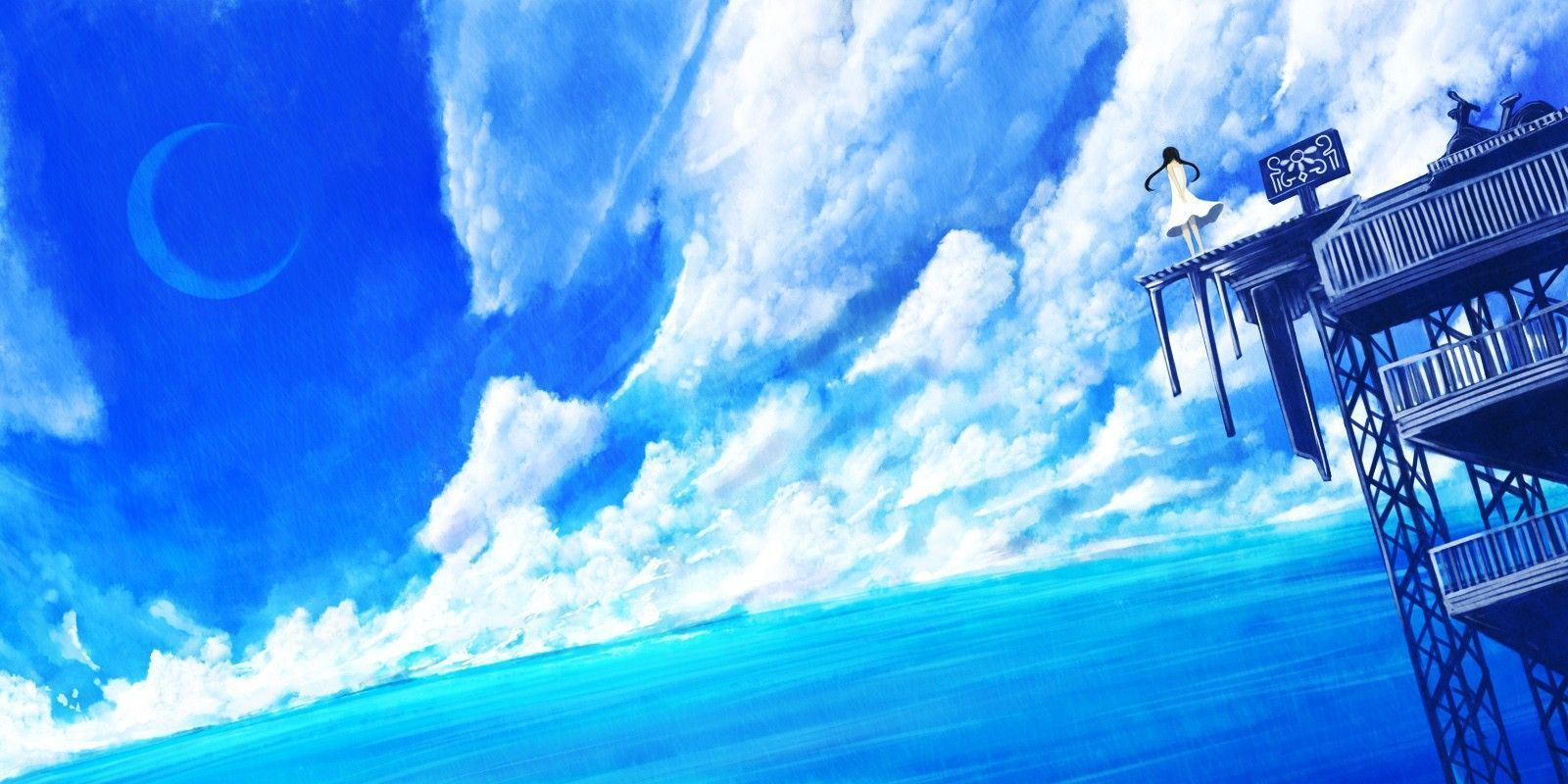 Blue Anime Wallpapers Group (68+)