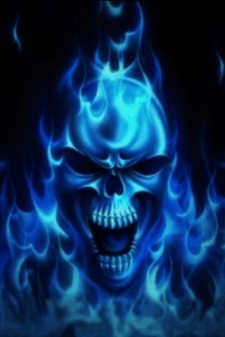 Blue Skull Live Wallpaper - Android Apps on Google Play