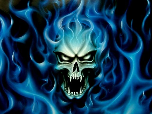 Collection Of Blue Skull Backgrounds On HDWallpapers