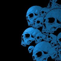 Blue Skull Wallpaper Pictures, Images & Photos | Photobucket