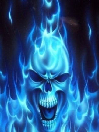 Collection of Flaming Skull Wallpapers on HDWallpapers