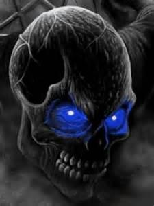 Blue Wallpaper Skull And Crossbones - Wallpapers Kid