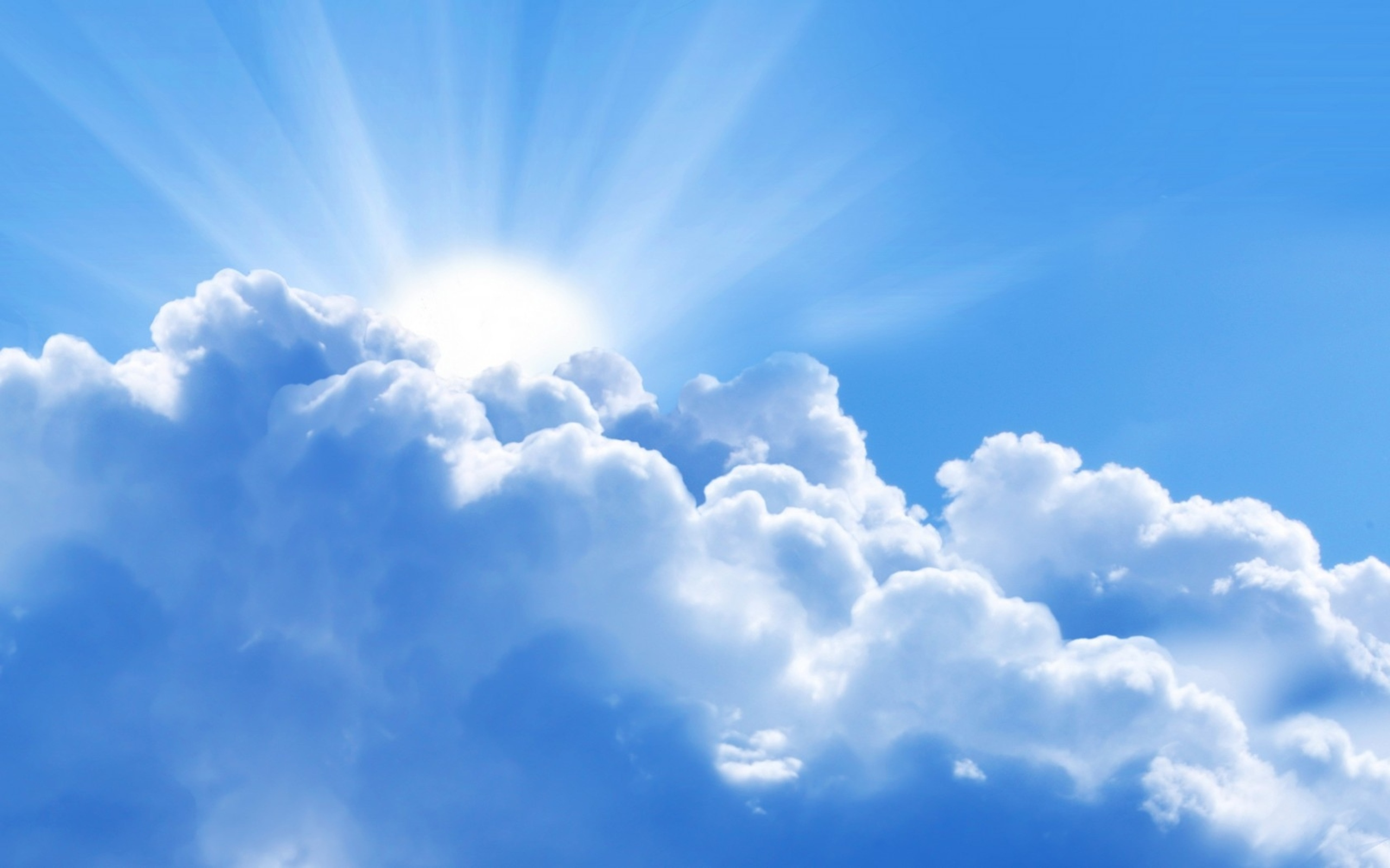 Blue Sky and Clouds Wallpaper - WallpaperSafari