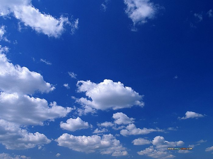 Blue Sky With Clouds Wallpaper 56 Images: Blue Sky Clouds Wallpaper