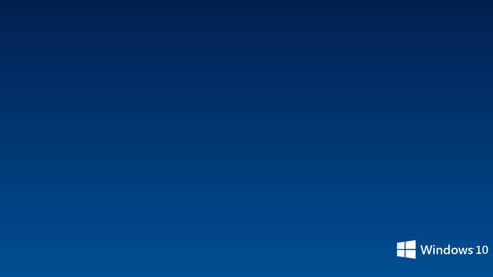 Blue Windows 10 Wallpaper PC #9523 Wallpaper | High Resolution