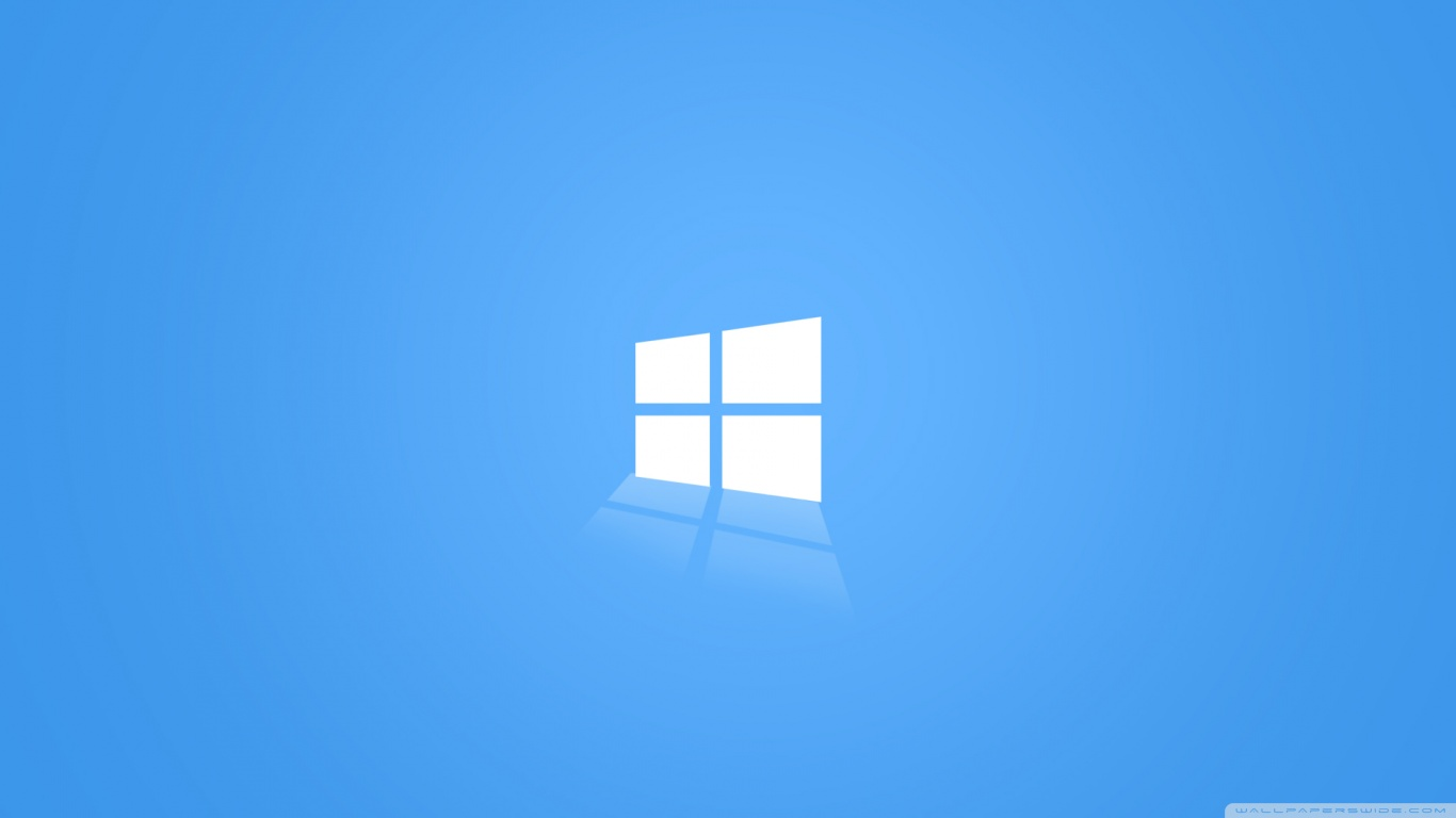 Windows 10 Blue HD desktop wallpaper : Widescreen : High