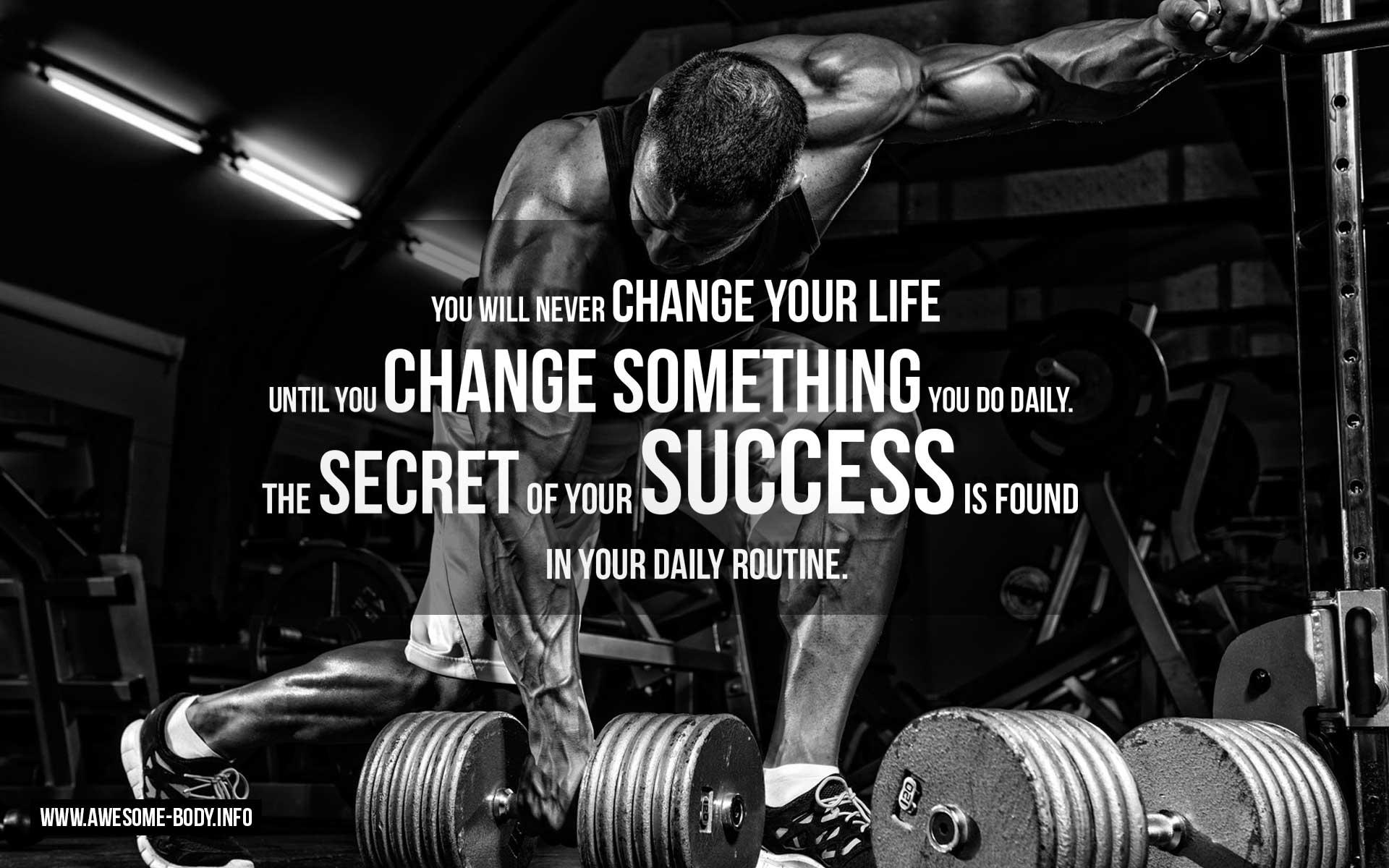 Bodybuilding motivation wallpaper - SF Wallpaper
