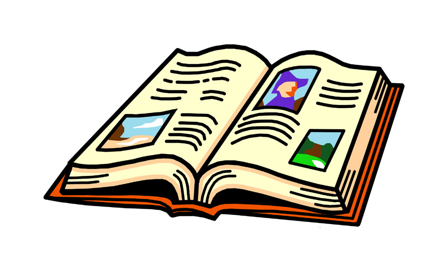 Book image - ClipartFest
