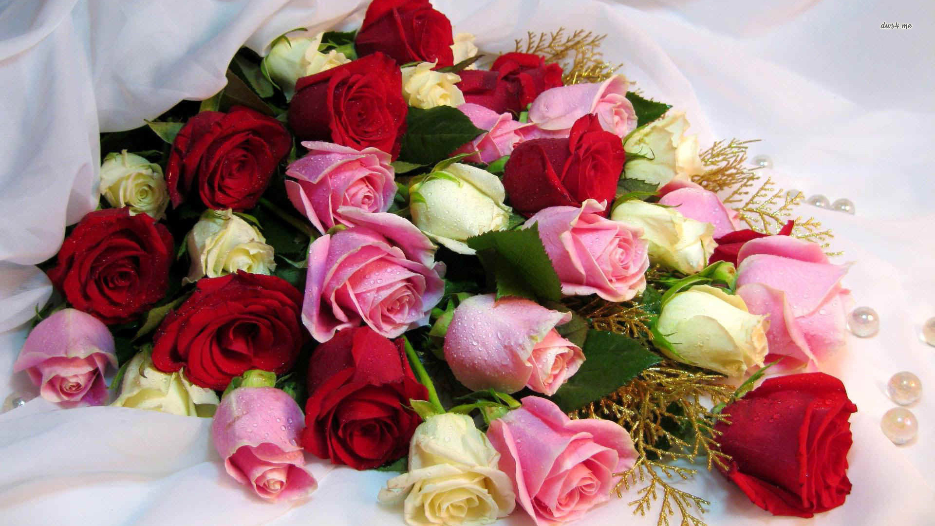 Picture Of Flowers Rose Bouquets Wallpaper | FlowerHDWallpaper