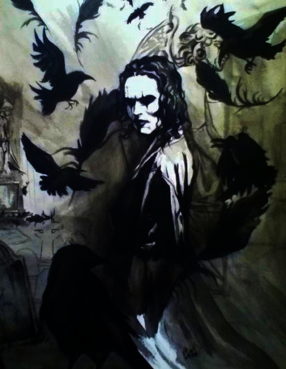 Brandon Lee The Crow Wallpaper Sf Wallpaper