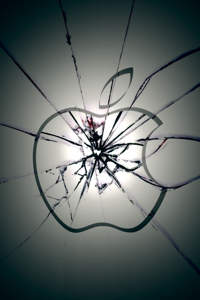Broken Iphone Screen Wallpaper Group 42