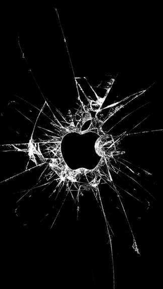 Broken Glass Wallpaper For Iphone Page 1