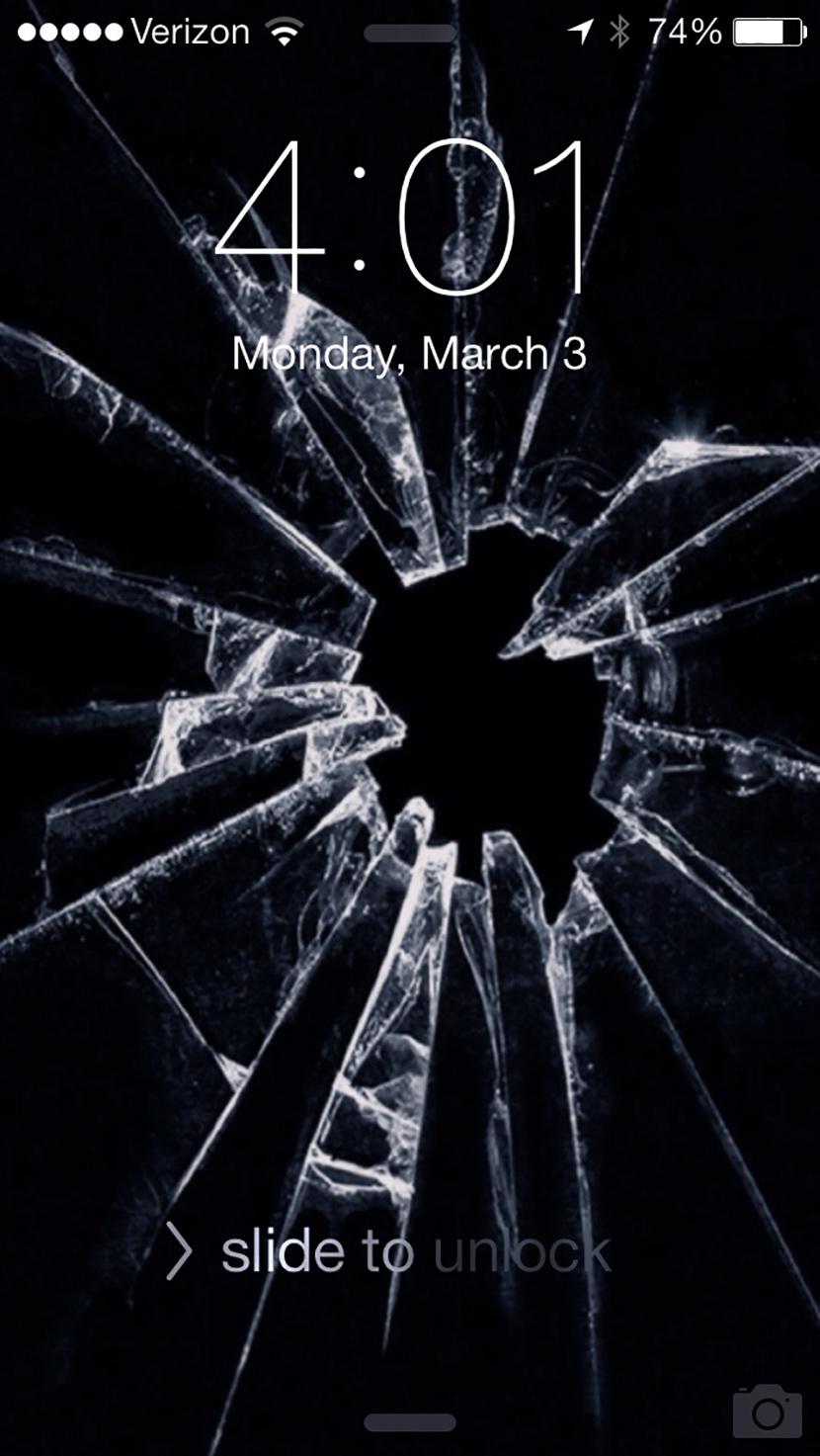 7 Broken Screen Wallpapers For Apple iPhone 5, 6 and 7 - Best