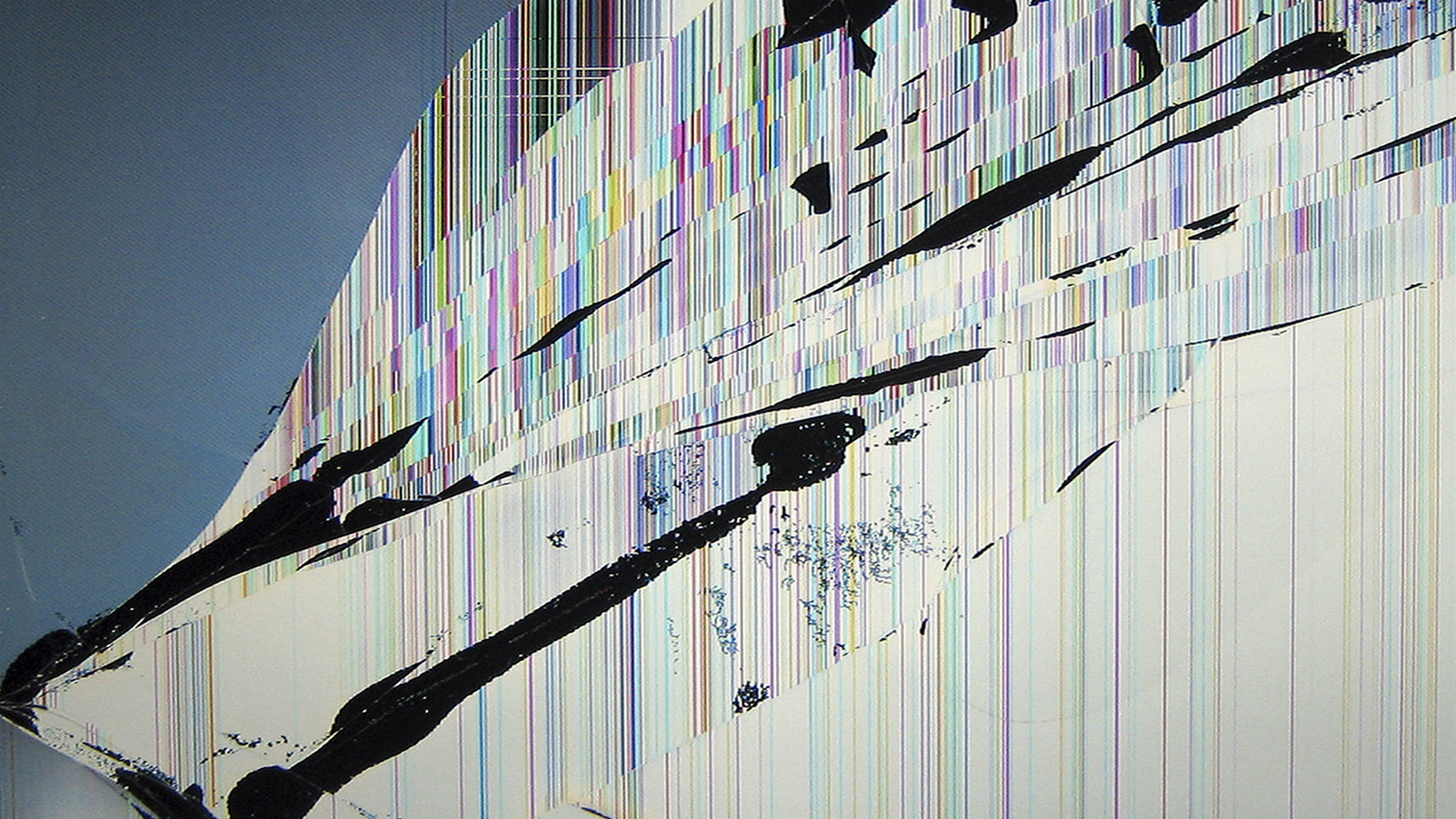 Broken Lcd Wallpaper