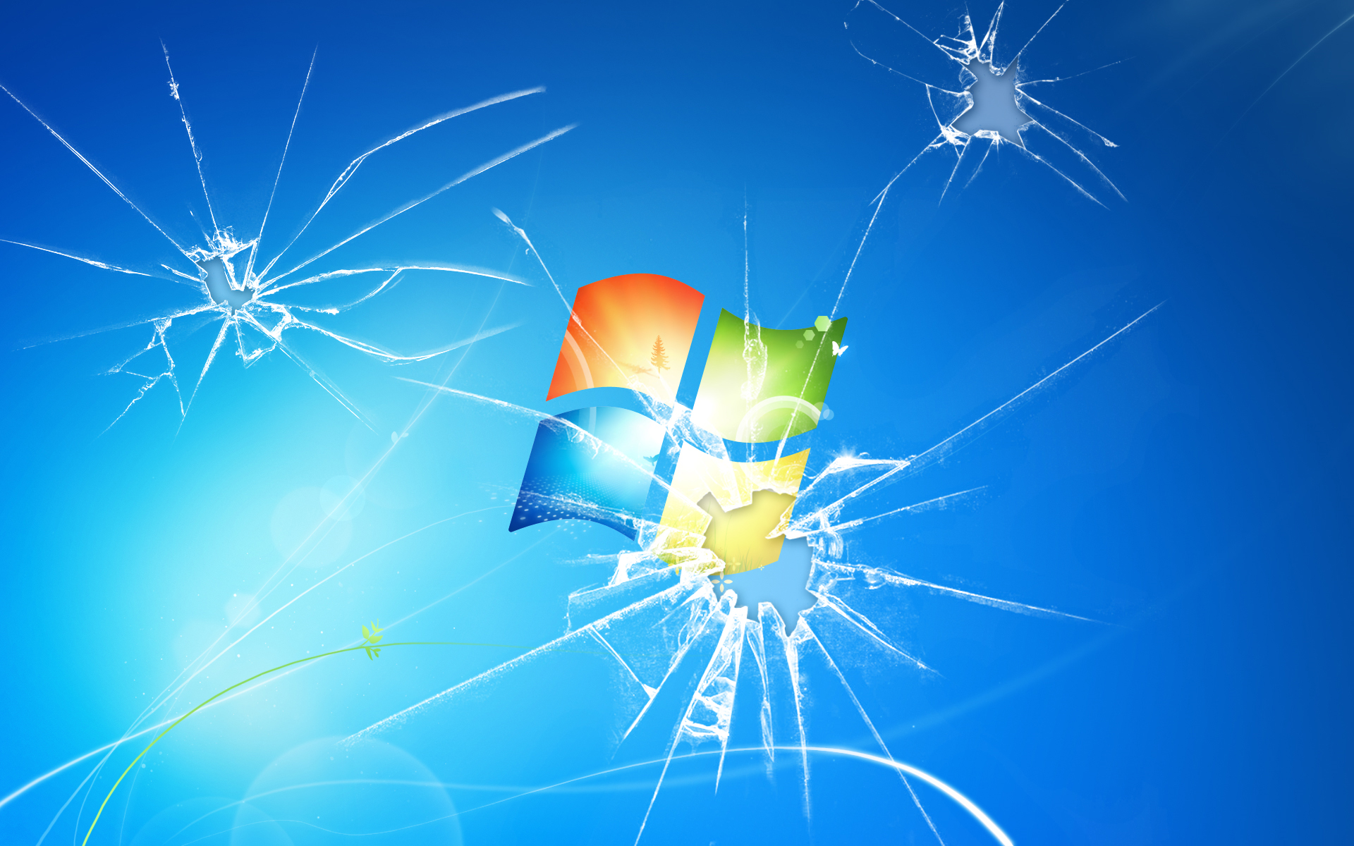 Broken Windows Background - WallpaperSafari